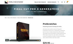 ProScratches - Pixel Film Studios Plugins - FCPX Effects