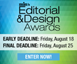 min's Editorial & Design Awards Salutes Excellence in Magazine Media; Final Entry Deadline Is August 25