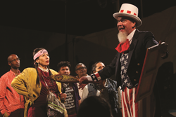 Cornerstone Theater Company. Photo: Kevin Michael Campbell