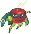 """Meet """"Super Cherry"""" a super-fruit super hero from Graceland Fruit"""