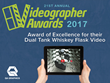 QA Graphics Wins Videographer Excellence Award