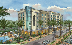 The new Hyatt Place Sandestin at Grand Boulevard will feature 84 rooms and over 1,600 square feet of continuous meeting space.