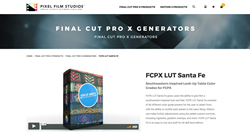 FCPX LUT Santa Fe - Final Cut Plugins - Pixel Plugins
