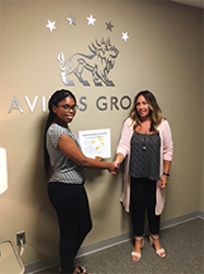 Avitus Group Employee of the Quarter Bria Jackson