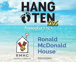 HangTen Kids Sunglasses & Ronald McDonald House