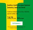 Independence Day Comes with Special Rates and a Patriotic Contest for Jamaican Expats, on TelephoneJamaica.com