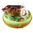 Animal Limoges Boxes Bulls Dogs Cats Frogs