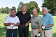 Joe Deglomini Sr. (2nd from right) with his guests at Calvary's Golf & Tennis outing.