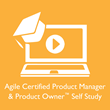 Agile Certified Product Manager and Product Owner