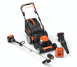 First Cordless Mower with the Power, Torque, Runtime as Gas Products
