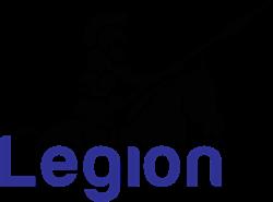 Legion Junk Removal and paper shredding logo
