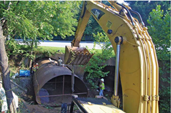 InfraSteel's cost-effective and environmentally friendly culvert rehabilitation solutions