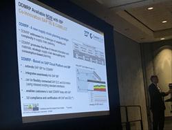 SAP's Franz Hero announcing DDMRP for SAP IBP