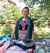 The women weavers of Laos trunk show hosted by WRJ Design featured handmade scarves, clothing, bowls and other functional art to benefit the artisans and preserve heritage textile traditions.