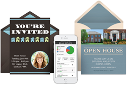 Digital invitations for Real Estate from Modern Stamp