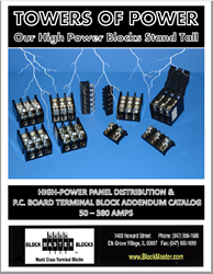 terminal blocks, high power terminal blocks, high power blocks, power distribution, power distribution blocks, electrical distribution, electrical distribution panels, high power distribution, transition power, power panel distribution, power supplies, ba