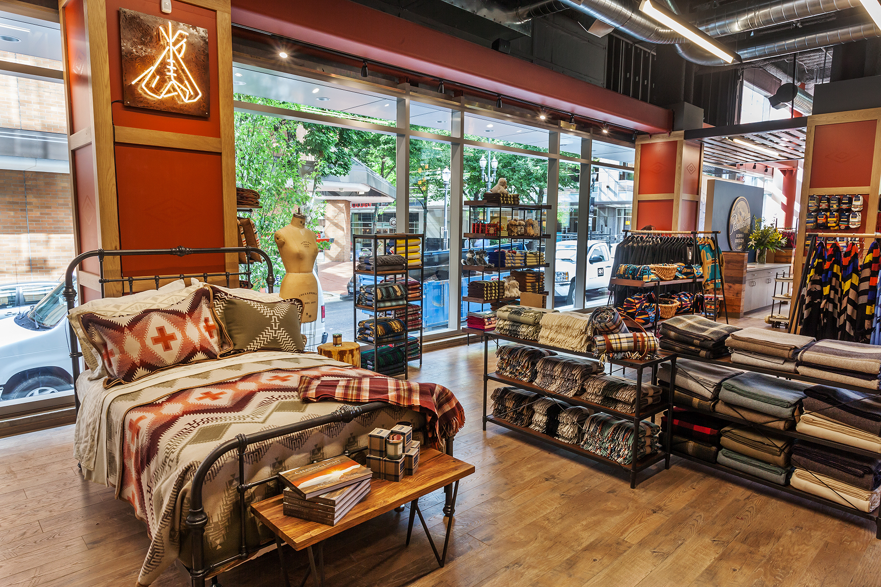 Pendleton Woolen Mills Opens Flagship Store In Heart Of