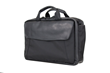 The Air Porter—black ballistic nylon with black leather flap