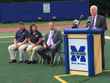 ATSNJ Hosts a Press Conference on Minimizing Risk of Heat-Stroke During High School Athletic Events with Senator Patrick Diegnan and Others