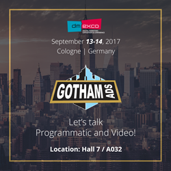 Meet us at Dmexco 2017