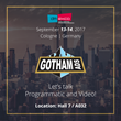 GothamAds Will Present Video Advertising Solutions at DMEXCO