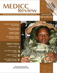 MEDICC Review Journal April July 2017