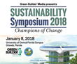 Green Builder Media Announces Sustainability Symposium 2018: Champions of Change