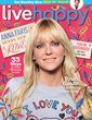 Actress Anna Faris Is Live Happy's October Cover Story