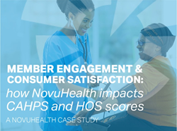 Case Study: How NovuHealth engagement programs impact member satisfaction—and boost CAHPS and HOS scores