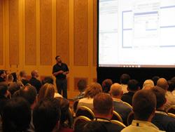 CADLearning Building Content Manager, Jason Boehning, presenting at Autodesk University Las Vegas 2016