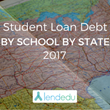 LendEDU's Student Loan Debt by School by State Report 2017