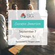 SIG is Coming to Chicago for Executive Immersion Program