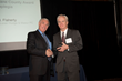 Attorney Patrick Flaherty accepting the Trial Lawyer Excellence Award