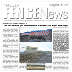 American Fence Co. Completes Challenging Airport Project on Time