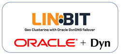 LINBIT and Oracle Dyn Logos for Geo-Clustering Solution