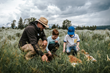 Wildlife Expeditions adventures teach about the natural world and the Greater Yellowstone Ecosystem making for a perfect family-friendly adventure (photo by Orijin Media).