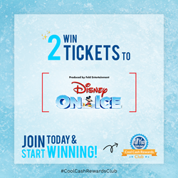 Disney On Ice Cool Cash Rewards Prize