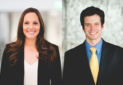 HDBD Partners Stephanie Roark and Reid Simpson