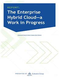enterprise hybrid cloud a work in progress