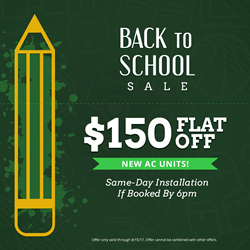 All Year Cooling Back to School Coupon