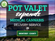 Pot Valet Adds Monterey County to Its Pot Delivery Network