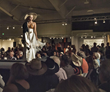 The always popular Opening Preview Party at the Western Design Conference & Sale features a live runway fashion show with cutting-edge Western couture such as Montana Dreamwear.