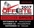 The 2017 Offsite Construction Expo - Vancouver Announces Speakers
