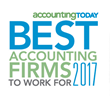 Seven CPAmerica Member Firms Recognized in Accounting Today's 2017 Best Firms to Work For