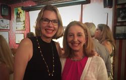Jennifer D. Port (left) and Fiona Davis