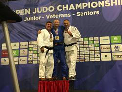 Winning silver medal at the The Veterans International Judo US Open