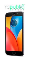 Get super long battery life with the new Moto E4 Plus from WiFi Calling innovator Republic Wireless