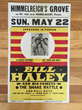 Avid Collector, Andrew Hawley, Announces His Search For Original Boxing Style 1955 Bill Haley Himmelreich's Grove Concert Poster