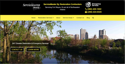 Proceed Innovative has launched a new website for ServiceMaster by Restoration Contractors