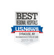 Which CNY Hospital was Ranked Among Best in State?